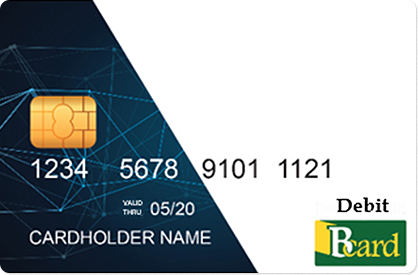 Bcard debit card