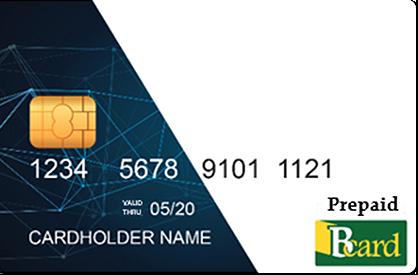 Bcard prepaid card